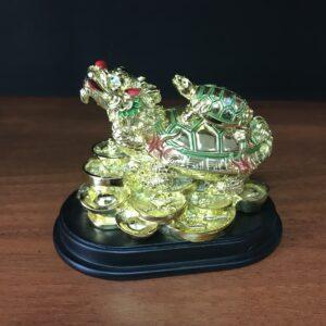 Драконочерепаха на деньгах